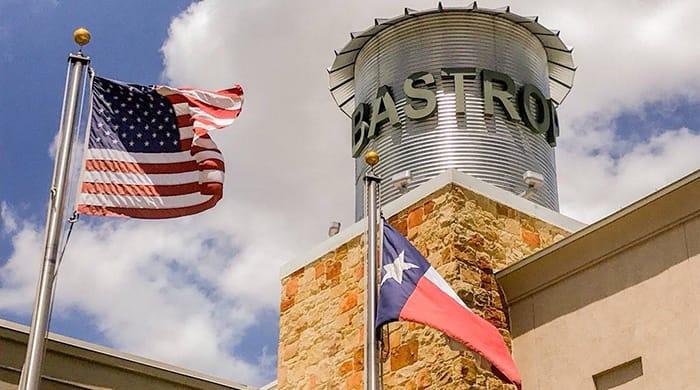 Image of the city of Bastrop