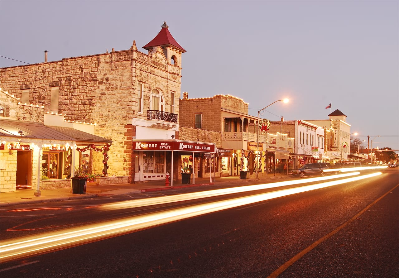 Image of the city of Fredericksburg