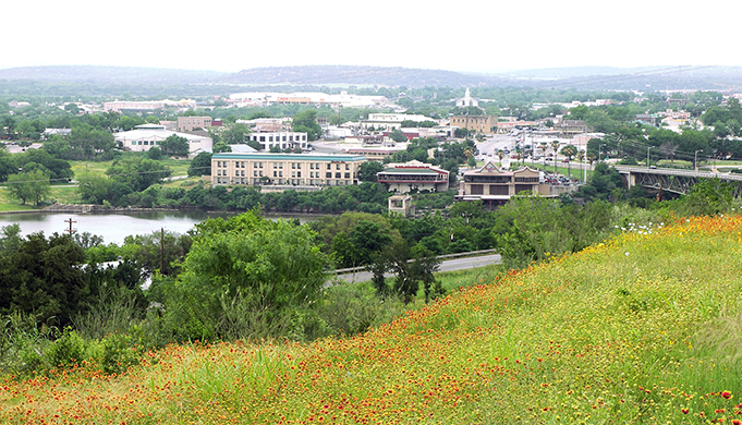 Image of the city of Marble Falls